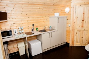Deluxe Pod Kitchenette